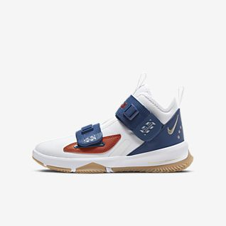 LeBron Soldier 13 LA Big Kids' Basketball Shoe