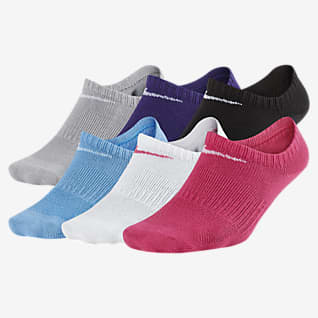 Nike Performance Lightweight No-Show Kids' Training Socks (6 Pair)
