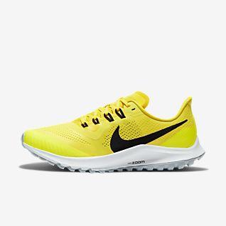 nike jaune chaussure