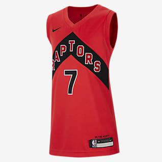 Toronto Raptors Icon Edition Koszulka dla dużych dzieci Nike NBA Swingman