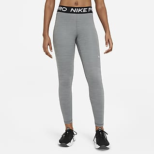 Nike Pro Leggings med medelhög midja för kvinnor