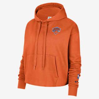 New York Knicks Women's Nike NBA Fleece Pullover Hoodie