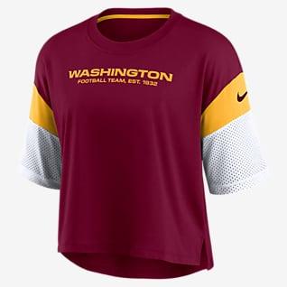 Nike Dri-FIT Nickname (NFL Washington Football Team) Women's Crop Top