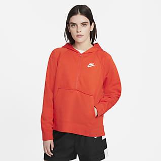 Nike Sportswear Club Essential Women's 1/4-Zip Fleece Hoodie