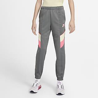 Nike Sportswear Heritage กางเกงขายาวเด็กโต (หญิง)