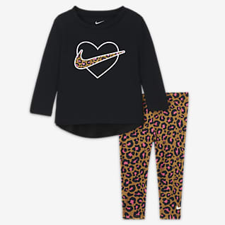 Nike Completo maglia e leggings - Neonati (12-24 mesi)