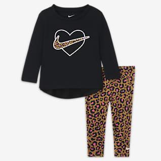 Nike Zestaw koszulka i legginsy dla niemowląt (12–24 M)