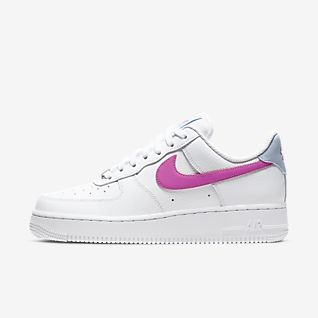 Nike Air Force 1 Trainers Size 11 Kids BNIB Pink