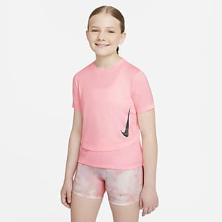 Nike Dri-FIT Instacool Older Kids' (Girls') Training Top