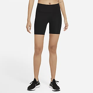 Nike Dri-FIT Fast Shorts de running de tiro medio de 18 cm para mujer