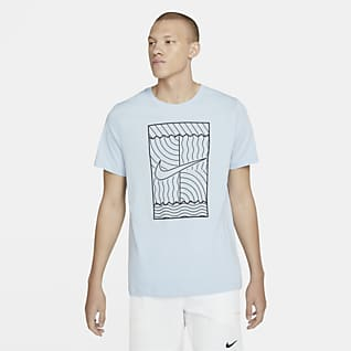 NikeCourt Męski T-shirt do tenisa