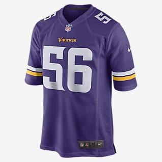 NFL Minnesota Vikings (Garret Bradbury) Men's Game Football Jersey