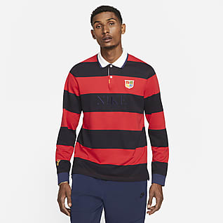Nike Sportswear Polo de manga larga para hombre