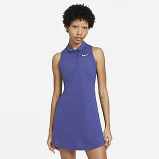 NikeCourt Victory Tennis-Poloshirt-Kleid für Damen
