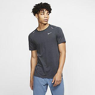 Nike TechKnit Ultra løpeoverdel til herre med halv glidelås