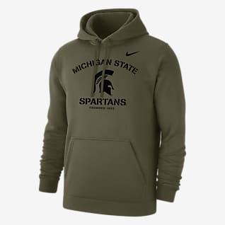 Nike College Club Fleece (Michigan State) Men's Hoodie