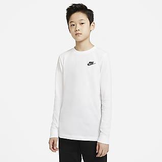Nike Sportswear T-shirt met lange mouwen voor jongens