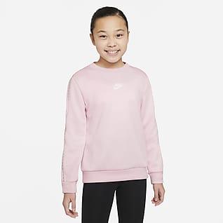 Nike Sportswear Sweatshirt med rund hals til store barn (gutt)