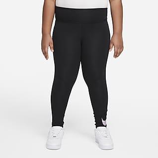 Nike Sportswear Favorites Leggings de tiro alto con gráfico para niñas talla grande (talla amplia)