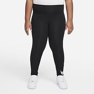 Nike Sportswear Favorites Big Kids' (Girls') Graphic High-Waisted Leggings (Extended Size)