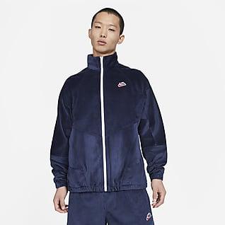Nike Sportswear Heritage Windrunner Veste en velours côtelé pour Homme