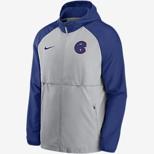 Nike Logo Essential (MLB Chicago Cubs) Men's Hooded Jacket