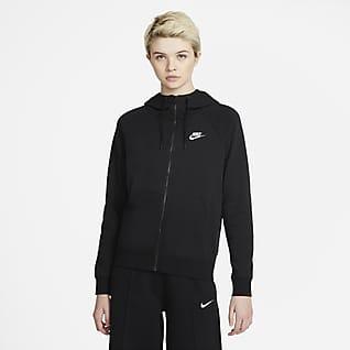 Nike Sportswear Essential Sudadera con capucha de cierre completo para mujer