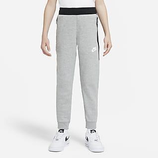 Nike Sportswear Flísové kalhoty pro větší děti (chlapce)