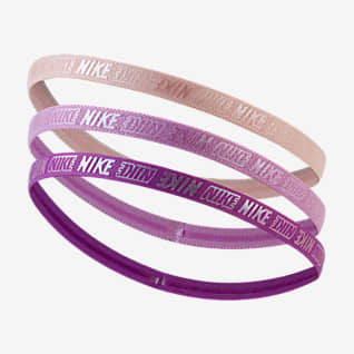 Nike Kids' Metallic Hairbands (3 Pack)