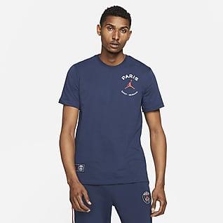 Paris Saint-Germain Logo-T-shirt til mænd
