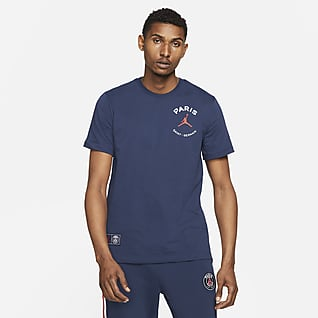 Paris Saint-Germain Logo Tee-shirt pour Homme