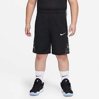 Nike Avalanche Shorts de básquetbol estampados para niños talla grande (talla extendida)
