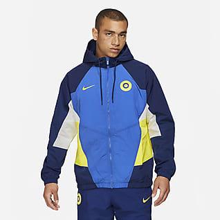 Chelsea FC Windrunner Мужская футбольная куртка из тканого материала