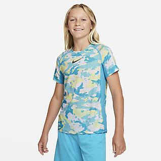 Nike Dri-FIT Big Kids' (Boys') Printed Training Top