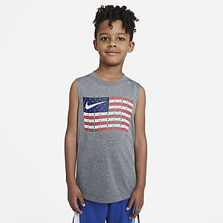 Nike Dri-FIT Camiseta de tirantes para niños talla pequeña