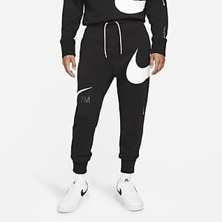 Nike Sportswear Swoosh 男款法國毛圈布長褲
