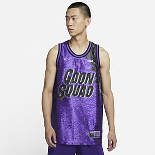 "LeBron x Space Jam: A New Legacy ""Goon Squad"" Nike Dri-FIT 男子球衣"