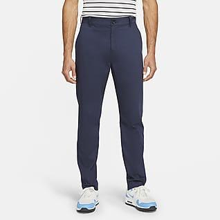 Nike Dri-FIT UV Calças de golfe de corte estreito estilo chino para homem