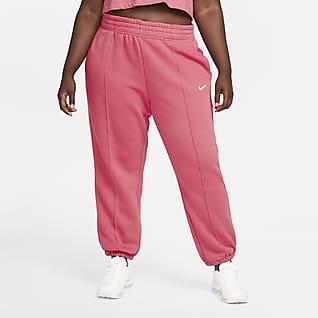 Nike Sportswear Trend Dámské flísové kalhoty (větší velikost)
