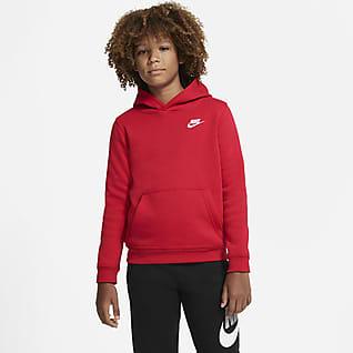 Nike Sportswear Club Hettegenser til store barn