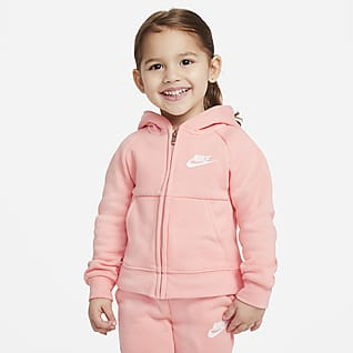 Nike Sportswear Sudadera con capucha de tejido Fleece de cierre completo infantil