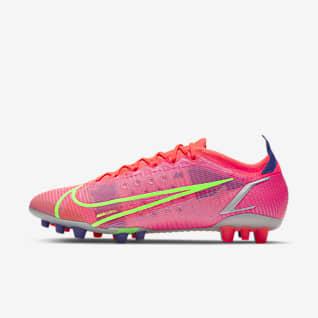 Nike Mercurial Vapor 14 Elite AG Chaussure de football à crampons pour terrain synthétique