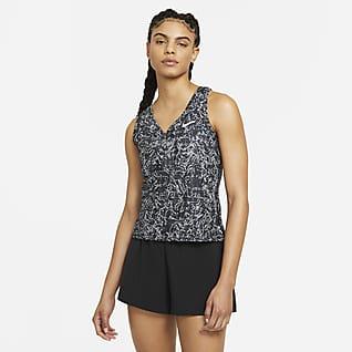 NikeCourt Victory Tennistanktop met print voor dames