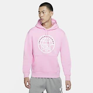 Nike SB เสื้อสเก็ตบอร์ดมีฮู้ดผู้ชายพิมพ์ลายกราฟิก