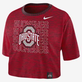 Nike College (Ohio State) Women's Crop T-Shirt