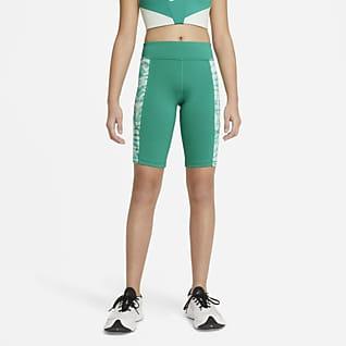 Nike Trophy Shorts de ciclismo para entrenamiento tie-dye para niña talla grande