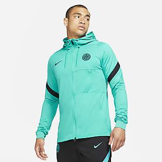 Inter Milan Strike Men's Nike Dri-FIT Knit Football Tracksuit Jacket