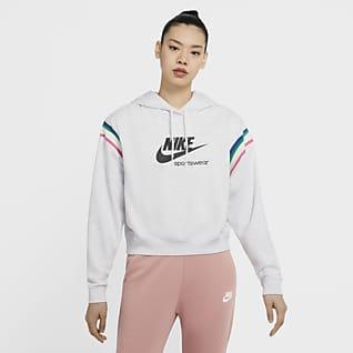 Nike Sportswear Heritage Felpa pullover con cappuccio - Donna