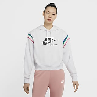 Nike Sportswear Heritage Huvtröja för kvinnor