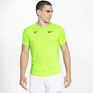 NikeCourt AeroReact Rafa Slam Ανδρική κοντομάνικη μπλούζα τένις